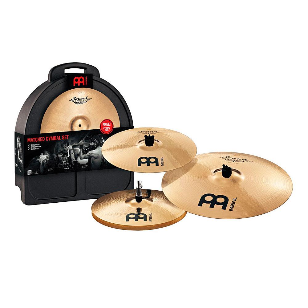 Image of   MEINL SC-14/16/20 Soundcaster Custom Bækkenpakke