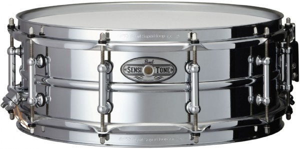 """Image of   Pearl 14x5"""" SensiTone Beaded Steel lilletromme"""