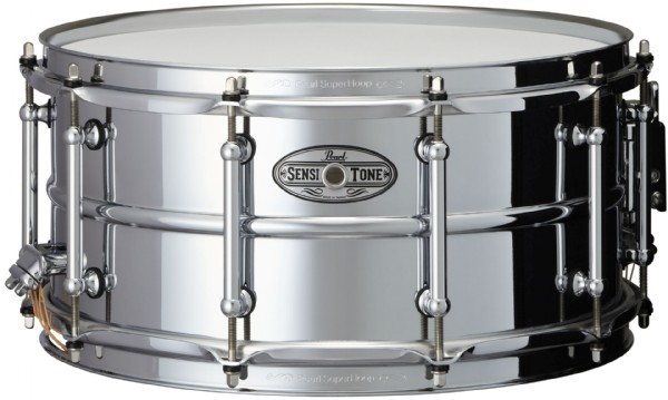 """Image of   Pearl 14x6,5"""" SensiTone Beaded Steel lilletromme"""