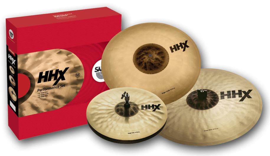 Image of   Sabian HHX Performance Set Bækkenpakke