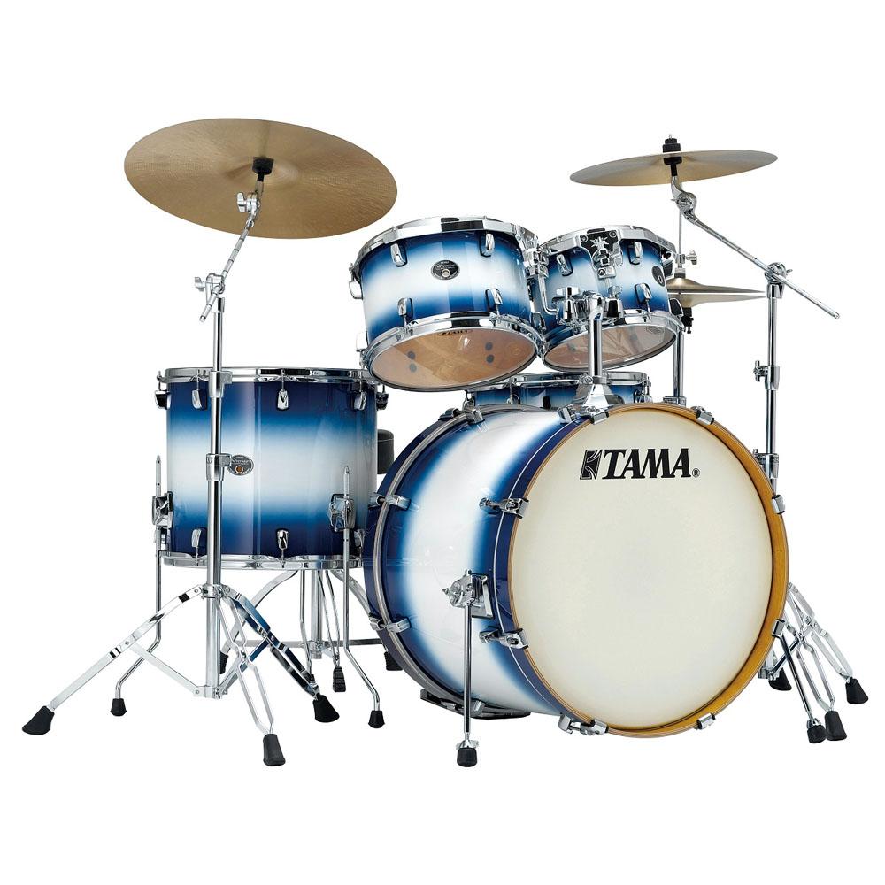Image of   Tama Silverstar Standard Trommesæt Jet Blue Burst