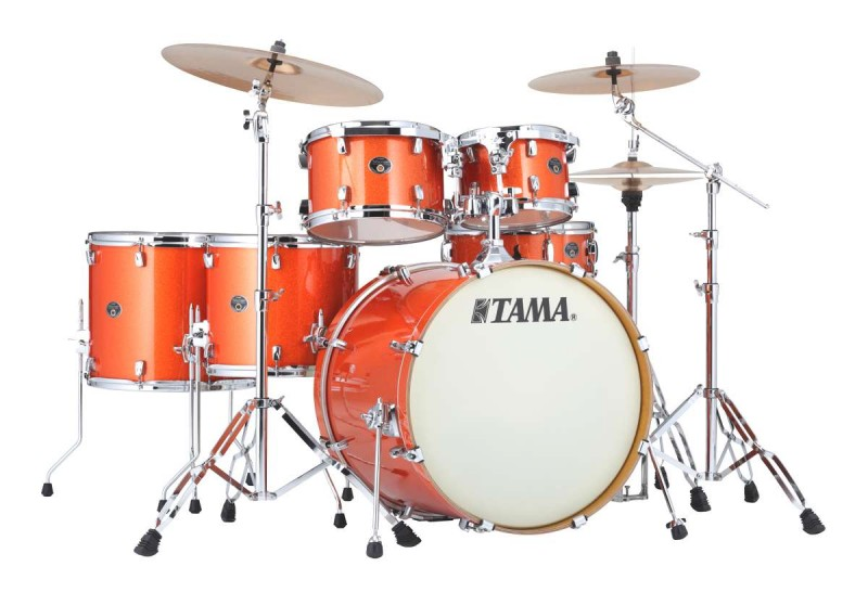Image of   Tama Silverstar Standard Trommesæt Bright Orange Sparkle