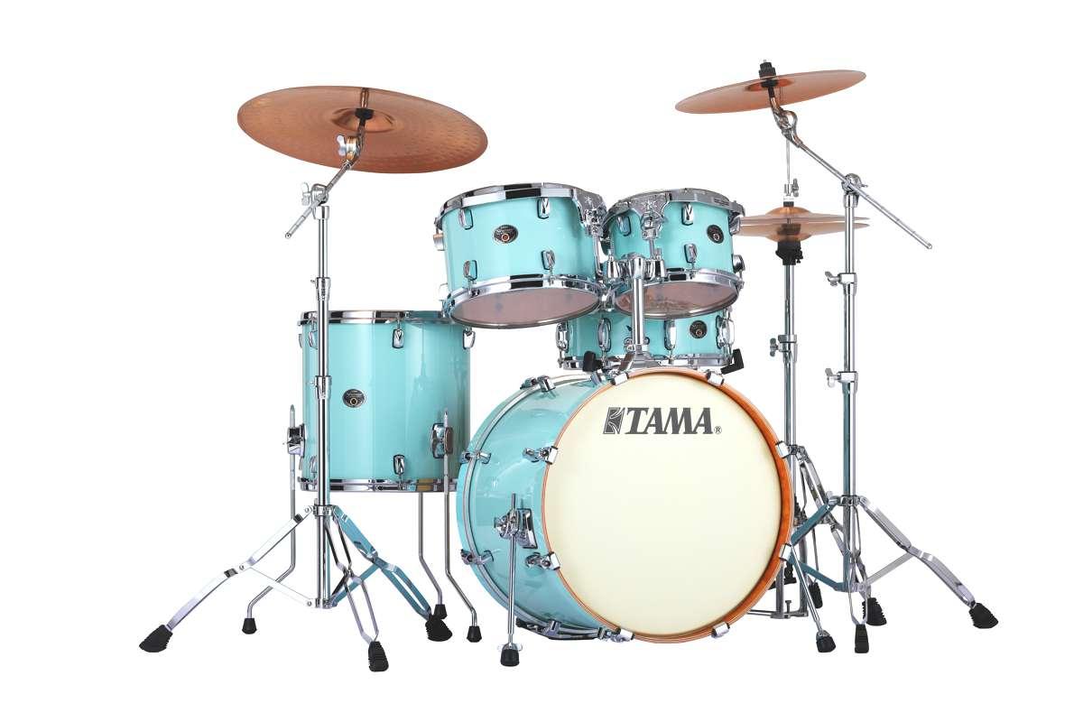 Image of   Tama Silverstar Standard Trommesæt Light Blue Laquer