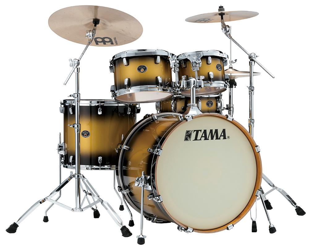 Image of   Tama Silverstar Standard Trommesæt Vintage Gold Duco