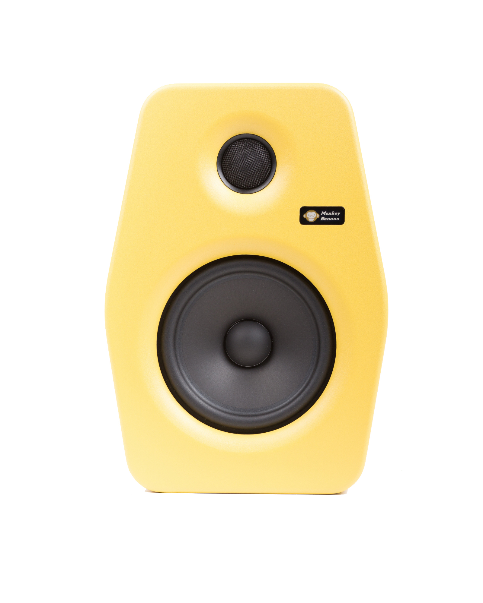 Image of   Monkey Banana Turbo 6 studie højttaler, gul