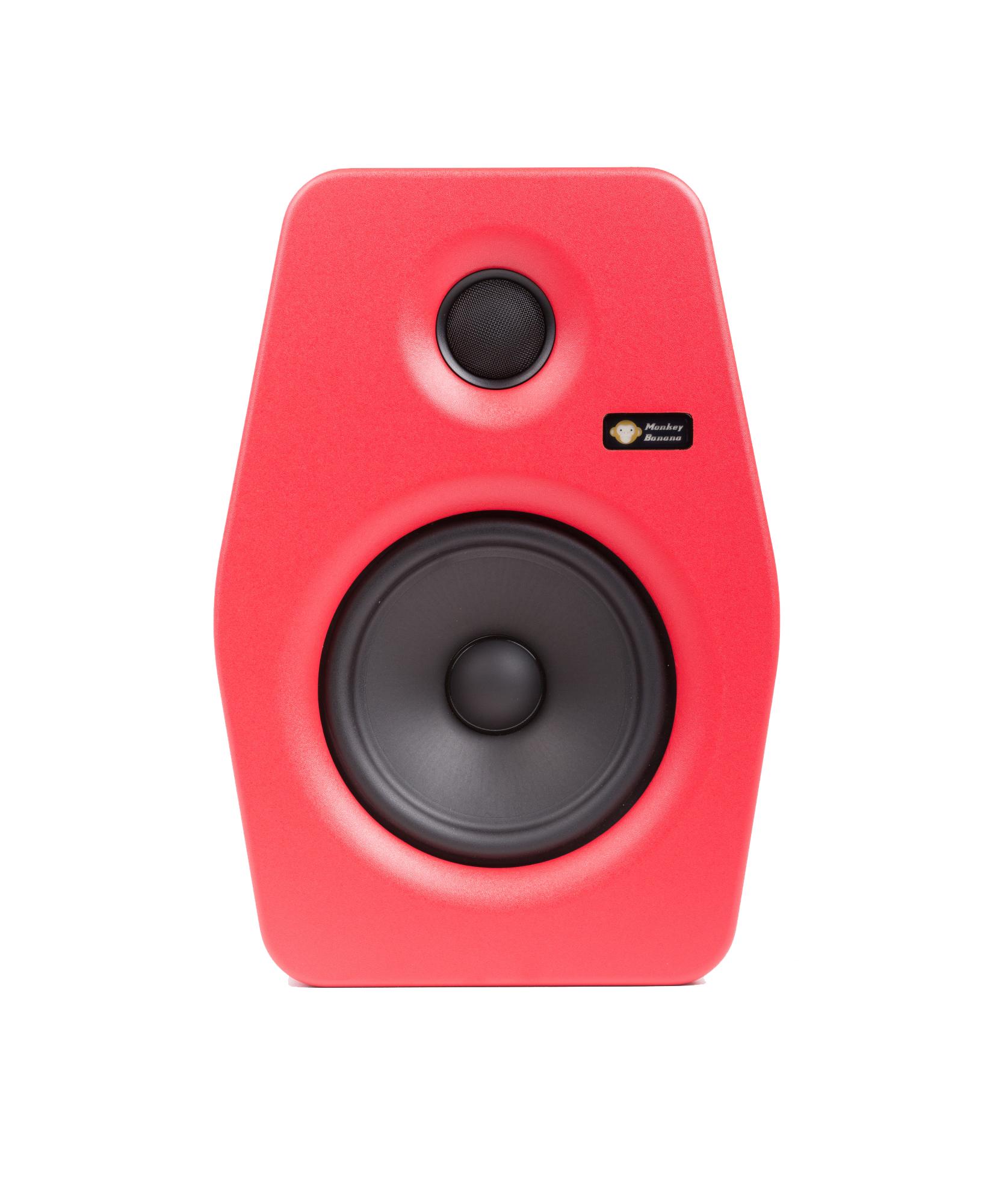 Image of   Monkey Banana Turbo 6 studie højttaler, rød