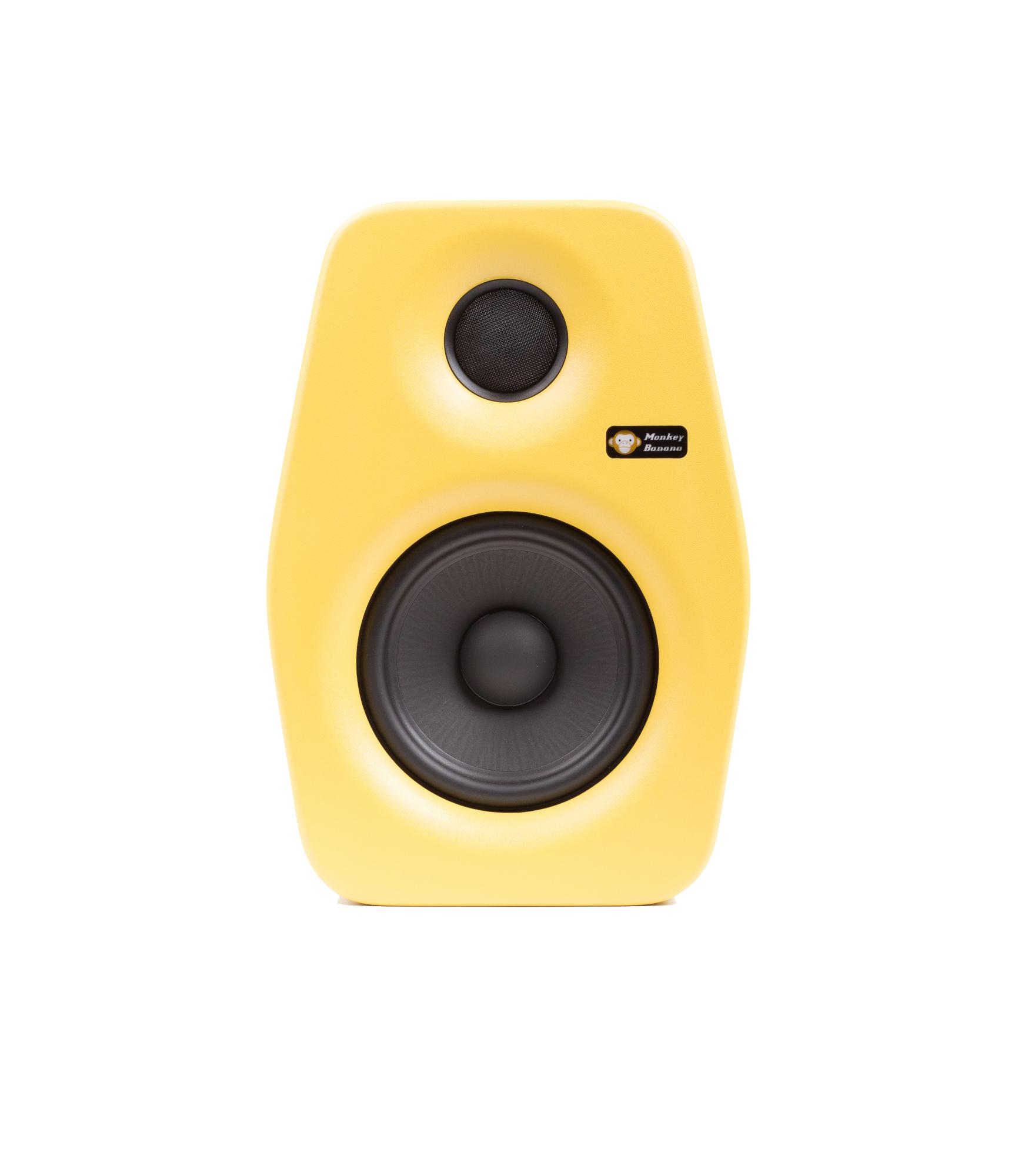 Image of   Monkey Banana Turbo 5 studie højttaler, gul