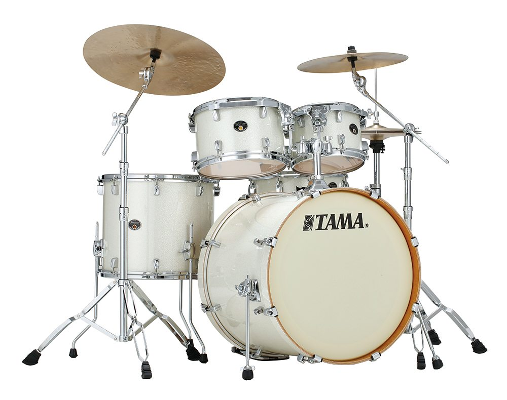 Image of   Tama Silverstar Standard Trommesæt Vintage White Sparkle