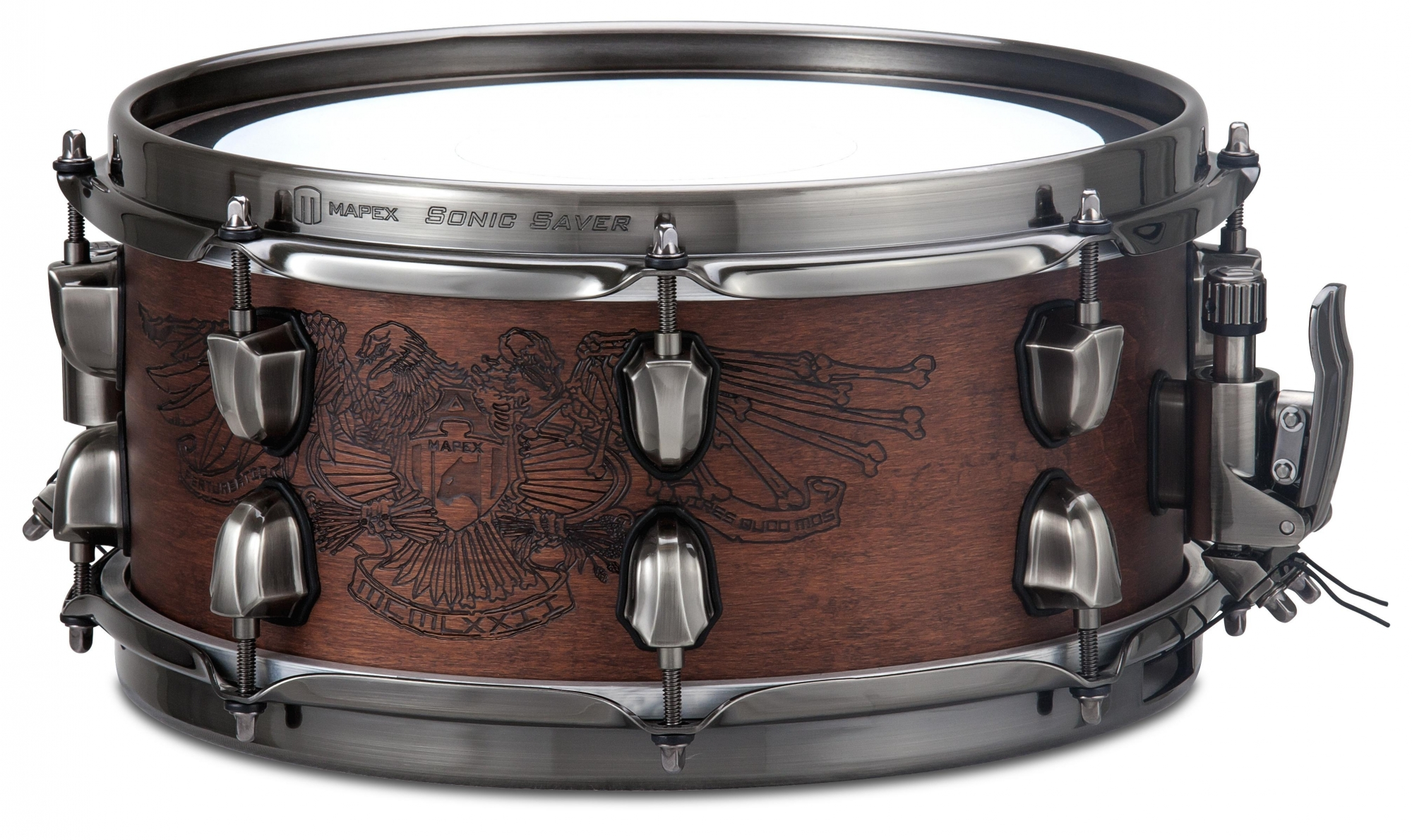 """Image of   Mapex 12x5,5"""" Black Panther Warbird Lilletromme"""