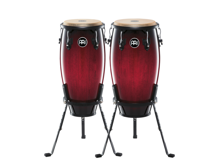 "Image of   Meinl Headliner Congas, 11""/12"" sæt Wine Red Burst"