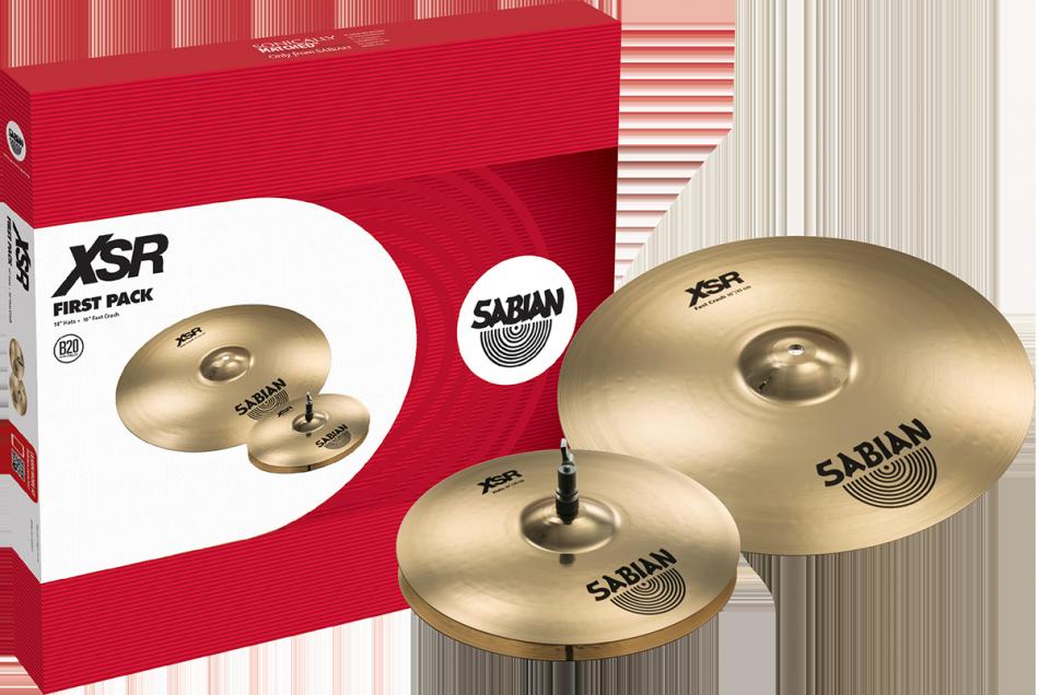 Image of   Sabian XSR First Pack Bækkenpakke
