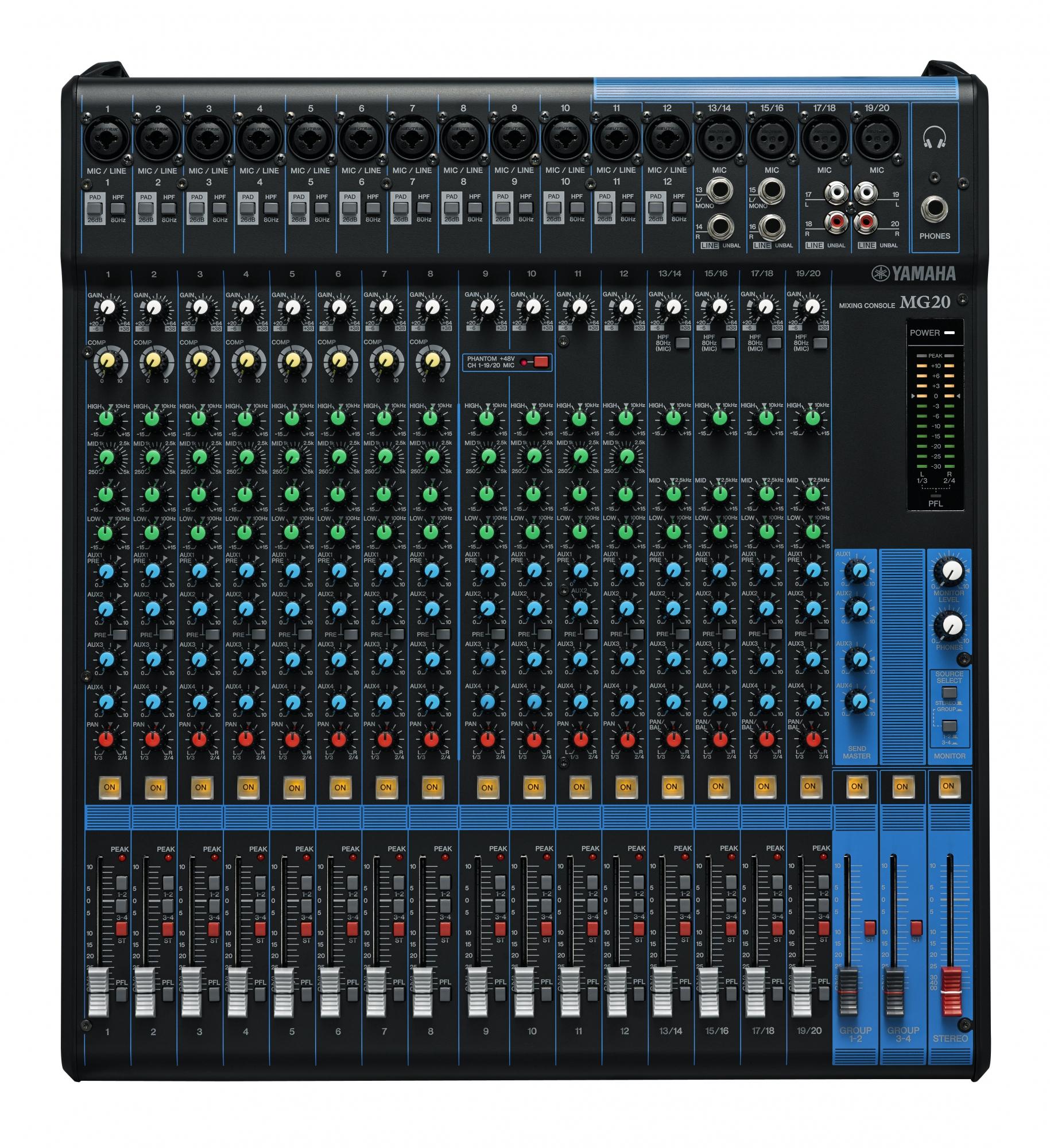 Image of   Yamaha MG20 Live Mixer