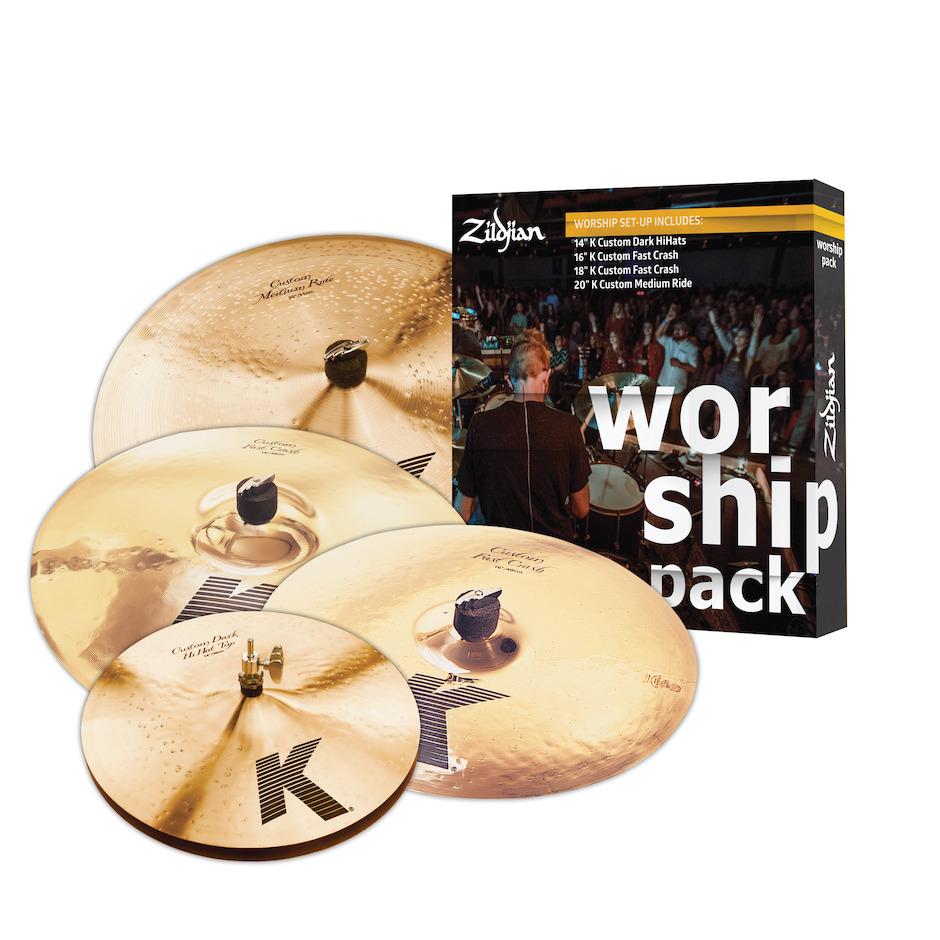 Image of   Zildjian KC0801W Worship bækkenpakke
