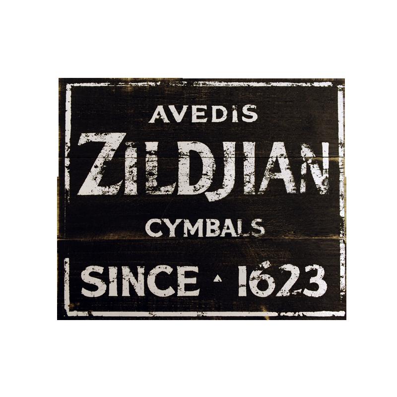 Image of   Zildjian Vintage skilt