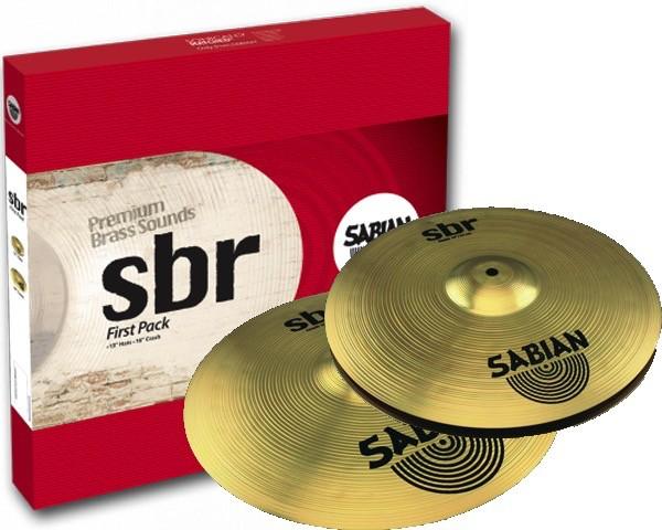 Image of   Sabian SBr First Pack Bækkenpakke