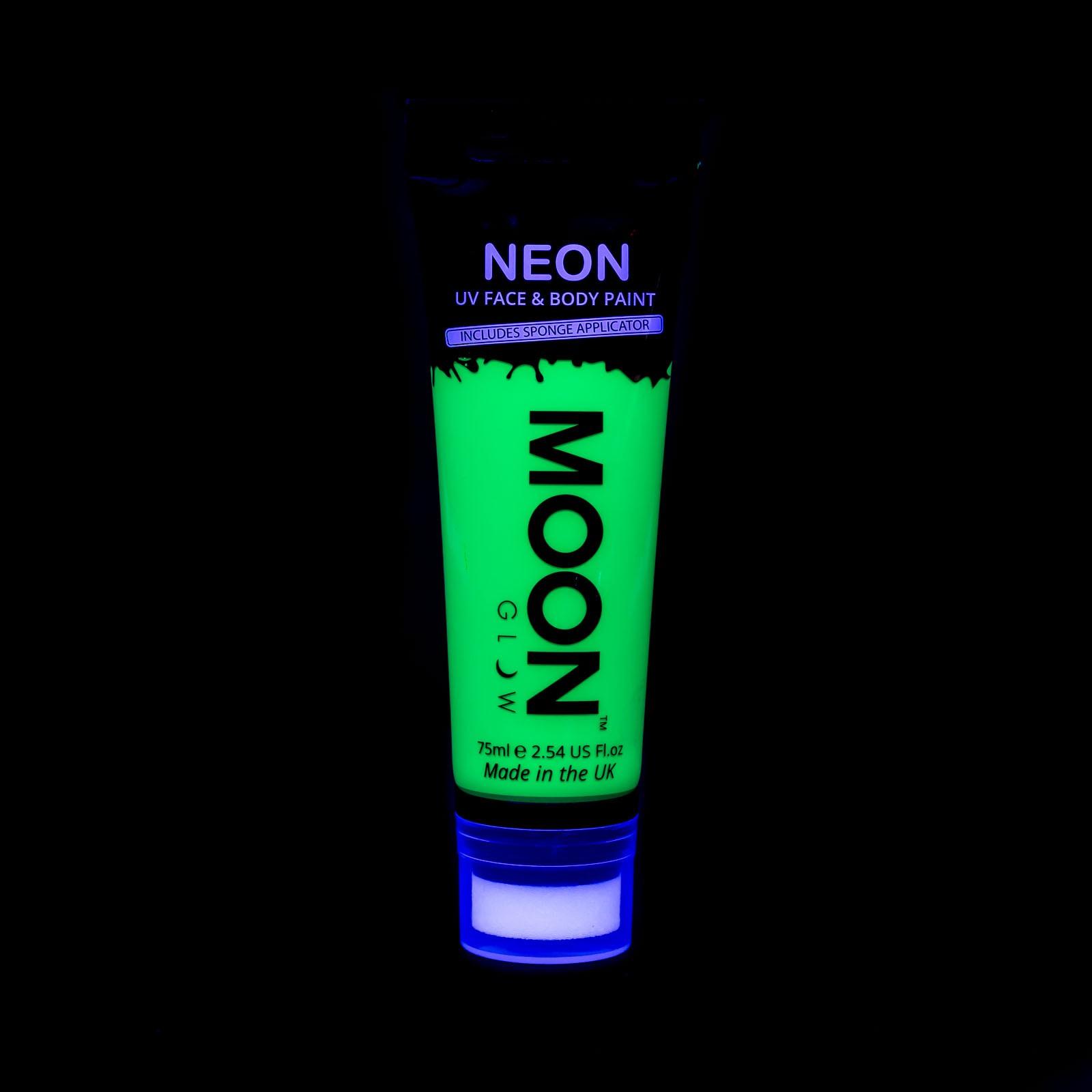 Image of   UV Krops- og ansigtsmaling 75 ml. Grøn