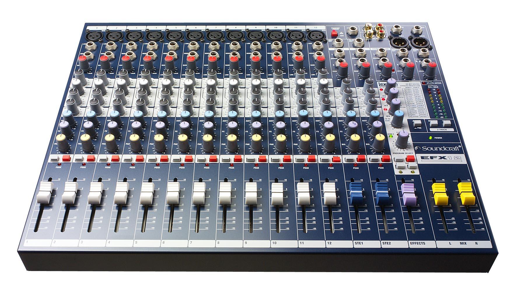 Image of   Soundcraft EFX12