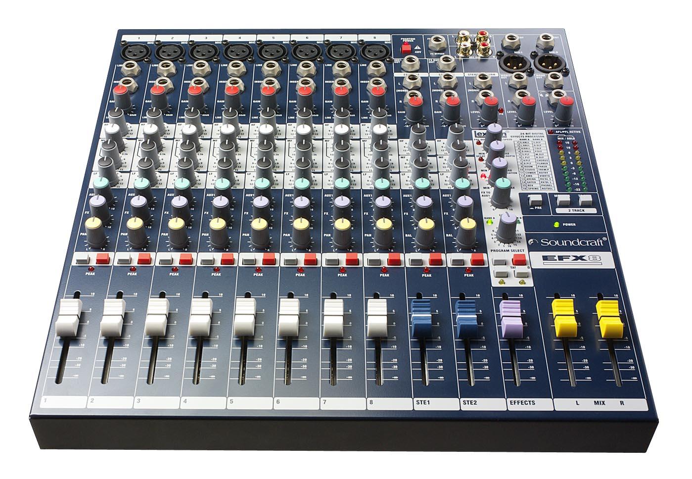 Image of   Soundcraft EFX8