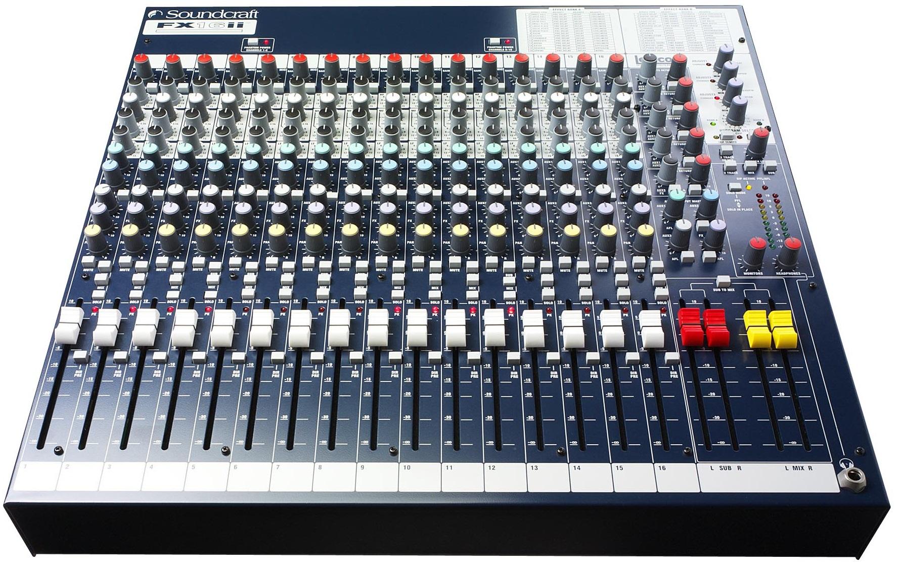 Image of   Soundcraft FX16II
