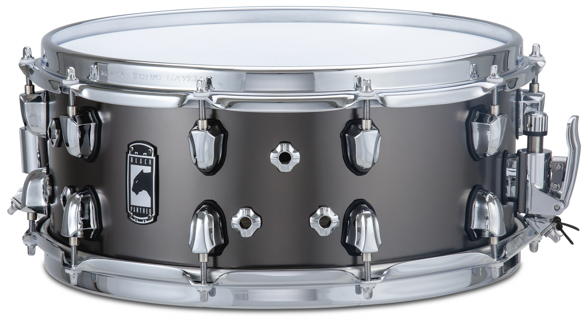 """Image of   Mapex 14x6"""" Black Panther Wraith Lilletromme"""